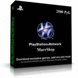 PlayStation Network Card (PSN) — Пополнение 2500 рублей (RUS)